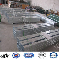 Powder Coated Frame Finishing and Heat Treated Pressure Treated Wood Type galvanized palisade fencing