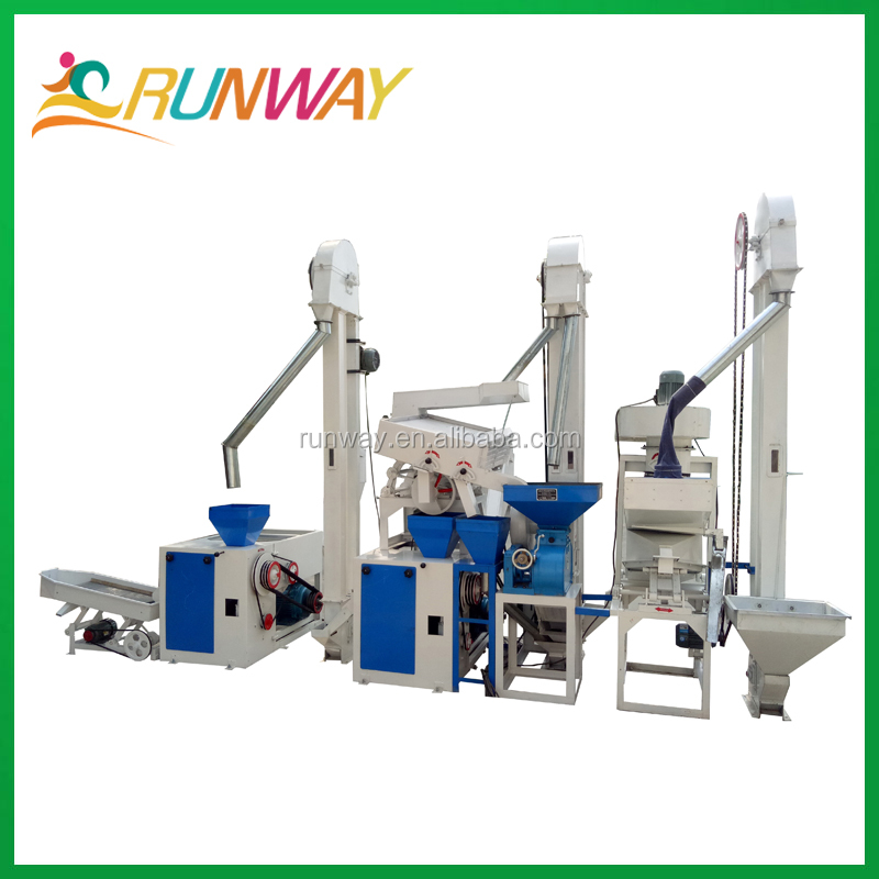 1 ton parboiled rice production line auto rice mill