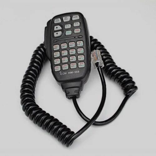Microphone Speaker HM133 for Mobile Radio IC-2100H/2710H/2800H/220H Walkie Talkie Speaker with keypad
