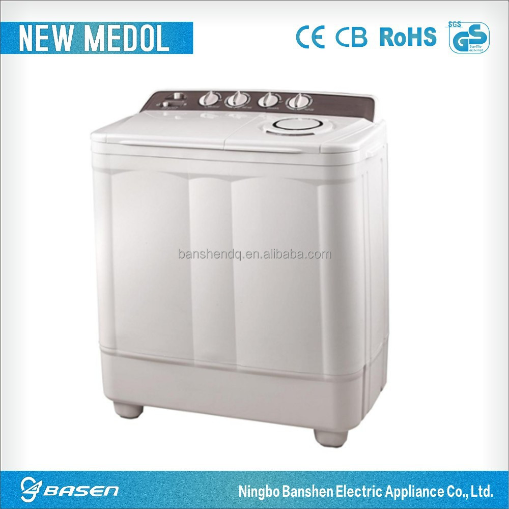 10kgs top good cover twin-tub semi automatic washing machine home use