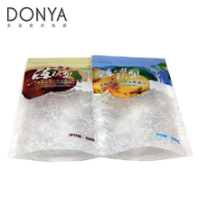 Waterproof frozen food plastic packaging bag for snack