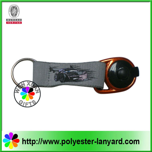 New design LED light key chain with carabiner