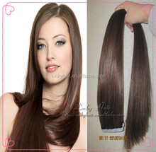 2014 hot sale tape hair extensions 7A good quality clear band tape hair extensions