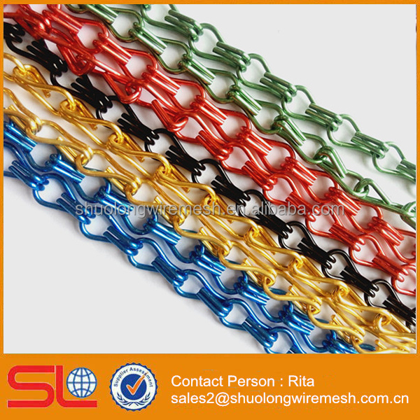 Discount Decorative Aluminum Chain Link Curtain Fly Curtain for Door