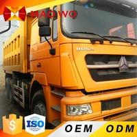 6x4 25T HOWO uesd dump truck for sale