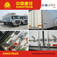 SINOTRUK NEW REFRIGERATOR VAN TRUCK FOR MEAT AND FISH