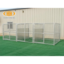 dog run fence panels/chain link dog kennel panels