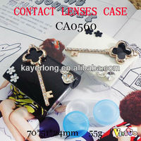 CA0560 blingbling key with big diamond DECO contact lens case