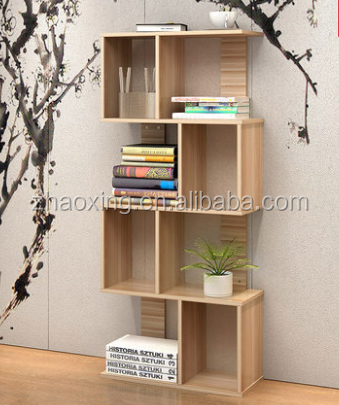 Living room funiture book case wooden bookself display stand