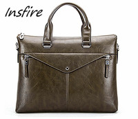 Wholesale man messenger bag designer business man briefcase bag