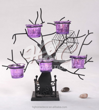 Home Decoration, Halloween Metal Candle Holder