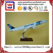 2017 China Supplier hot sale new products A 320 resin model plane
