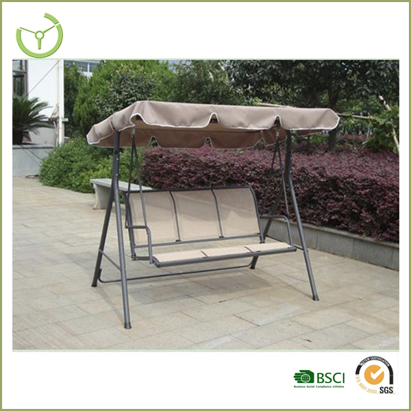 2016 hot sale garden outdoor swing sets for adults with canopy swing for the dacha