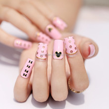 beauty sticker candy color blank polish nail sticker