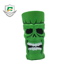 2018 new nontoxic halloween party supplies children toys plastic skull cup