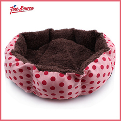 New Arrivals Hot Sale Small or Big Size Size Pet Products Velvet Dot Ded For Dog FX-P002