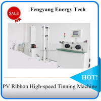 PV Ribbon High-speed Tinning Machine for solar panel production
