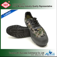 Latest woodland safety military training outdoor shoe rack waterproof camouflage