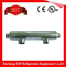 316L stainless steel refrigeration tube and shell heat exchanger