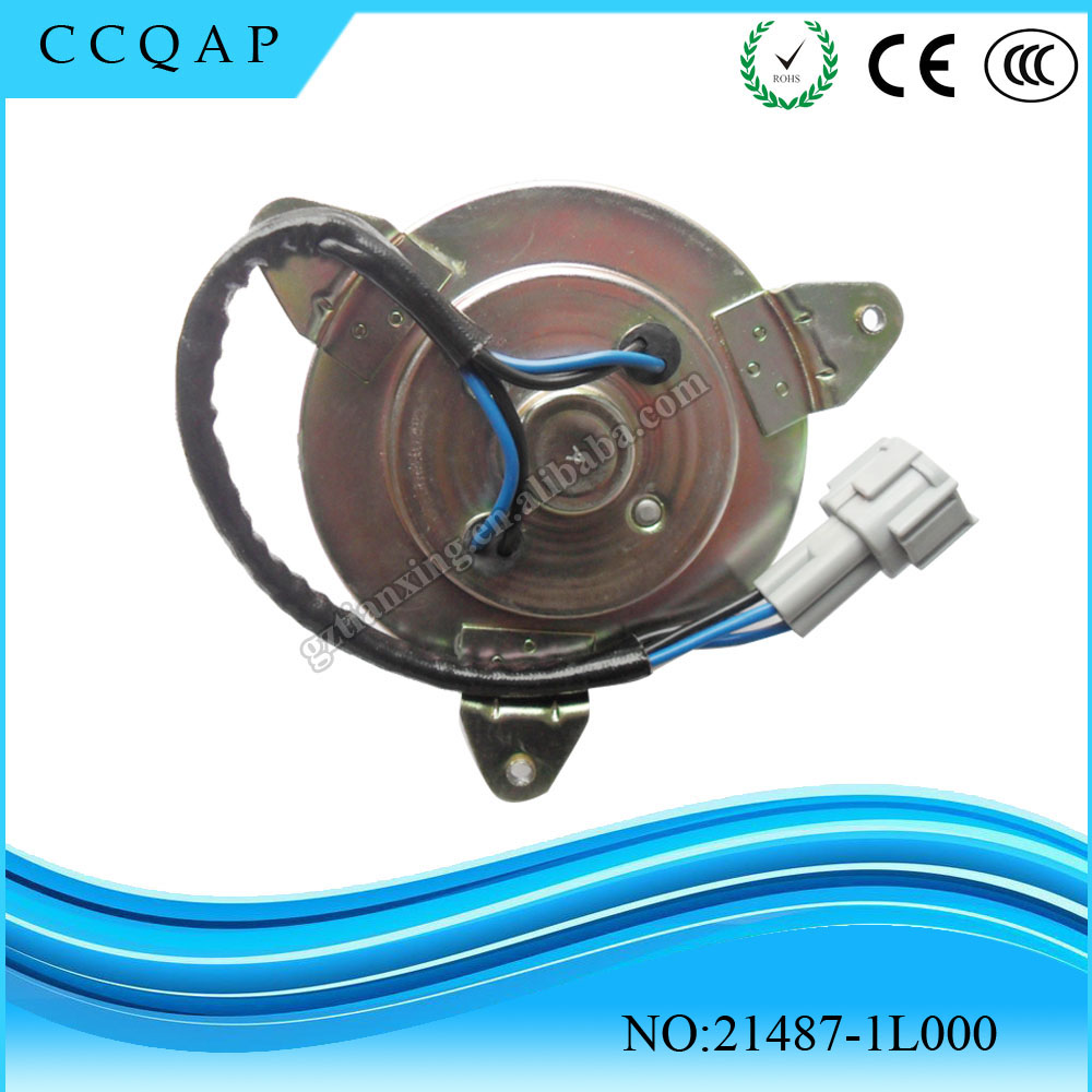 Auto spare parts 12 V dc car cooling fan motor denso radiator fan motor OEM#21487-1L000