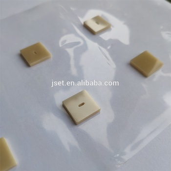 180 Thermal Conductivity Aluminum Nitride AlN Slabs polish