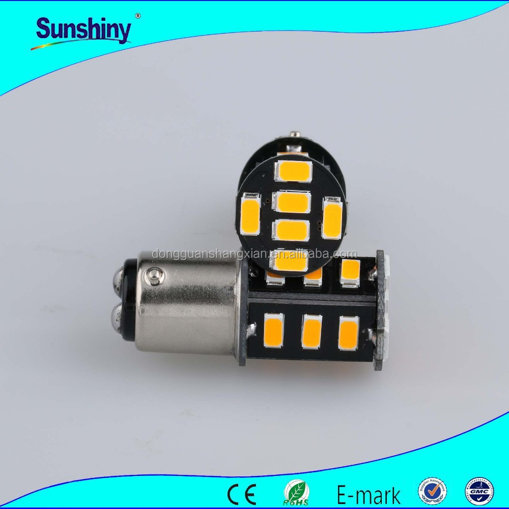 BA15S-18smd-5630 Canbus motorcycle led universal turn signal lights