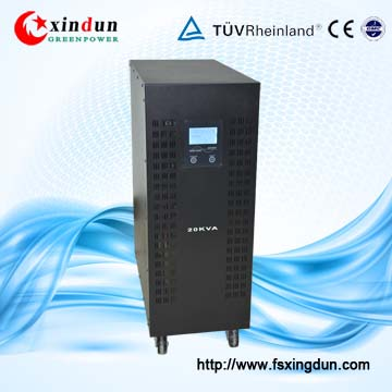 guangdong intelligent household off gird dc 12v 1 phase to ac 380v 220v 10KW 15KW 30000W solar power hybrid 3 phase inverter