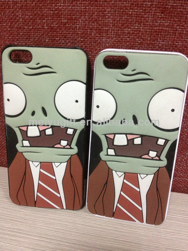 Plants Vs Zombies silicone phone case for iphone 5/5s