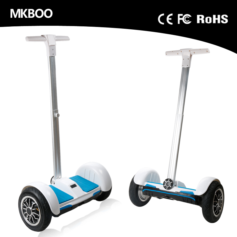 Manufacturer customized two wheel electric motorcycles 8 inch hoverboard e scooter with handle bar