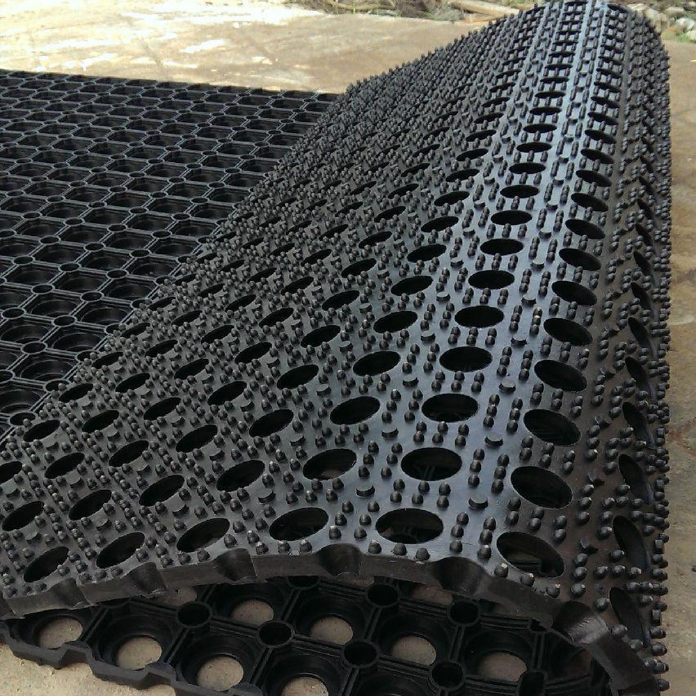Oil resistance Anti Fatigue Rubber mats for Non Slip Kitchen Restaurants Rubber Mats