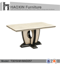 foshan dining room furniture marble dining table restaurant marble table top