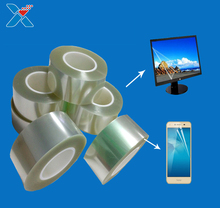 mobile phone and LED Screen Protector used Hard coated anti-glare PET film anti-scratch hardness 5H+ screen protector film