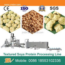soya chunks extruder machine