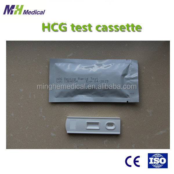 made in China one step Rapid Test Kit Strip cassette HCG pregnancy test kits
