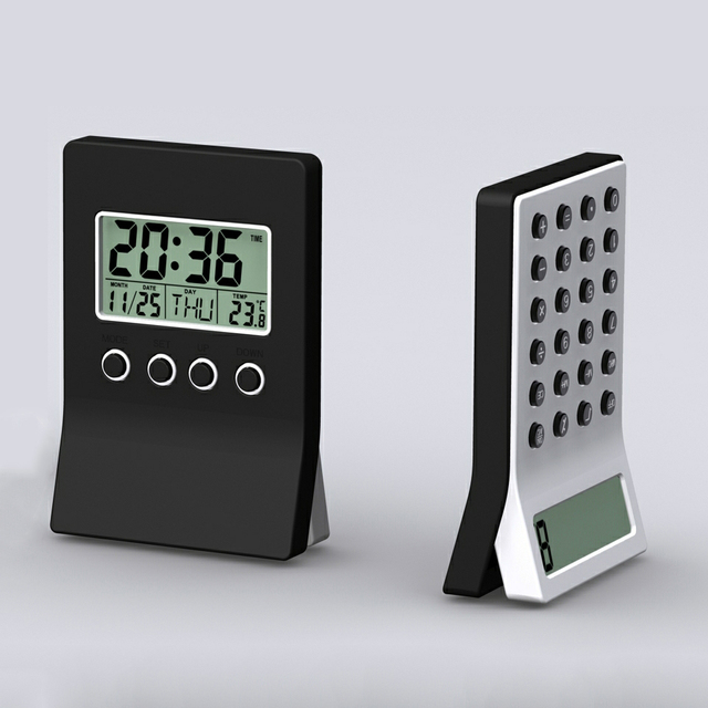World Time Alarm Clock with Calaulator
