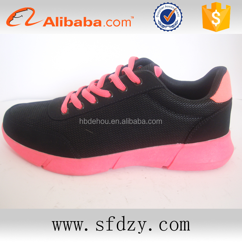 OEM/ODM china shoe factory ladies fashion shoes sport women summer sneakers