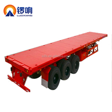 Container Semi-Trailer or Flatbed Semi Trailer with Container Lock