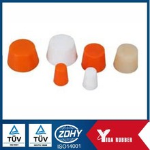 China sale silicone rubber stopper, soft silicone rubber stopper rubber plug with heat and water proof and sealing