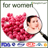 OEM Service Pink Ovary Care Softgel Capsules for Women Health