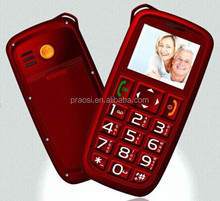 Special design mobile phone for elderly people with loud volume and big keypad