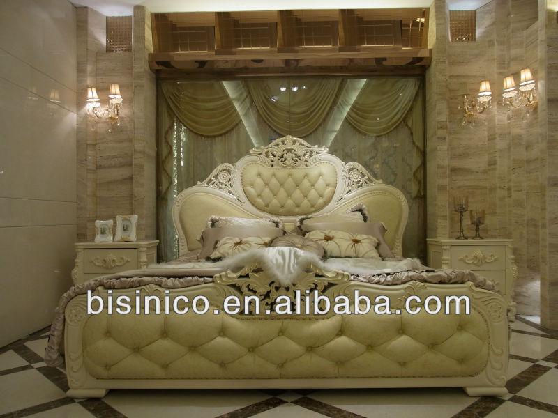 de lujo de estilo francés juego de dormitorio muebles de madera ...