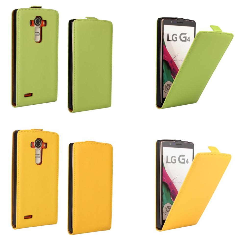 Factory Wholesale Mobile Phone Accessories Case Vertical Flip Leather Cover for LG G4 Case Capa Coque Carcasa