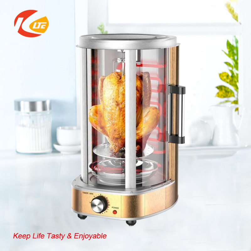Automatic electric rotating grill chicken machine, chicken grill