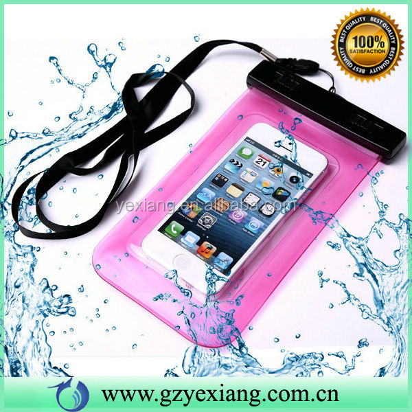 Wholesale Alibaba PVC Bag Waterproof Cheap Mobile Phone Case