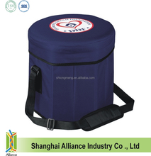 Insulated round easy seat cooler bag wholesale