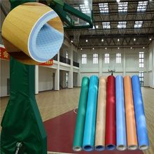 2017 new hot fashion health outdoor basketball court rubber flooring with CE/ISO