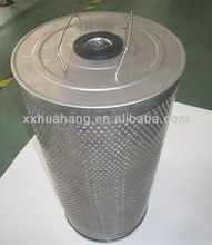 Direct Factory Round Activated Carbon Air Filter with High Efficiency