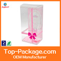 high quality clear plastic cosmetic packaging boxes
