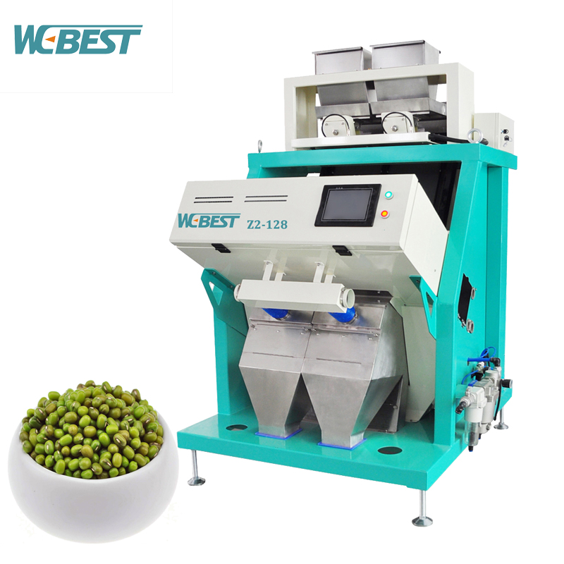 Hot sale CCD color sorter, mung bean color sorting machine for food