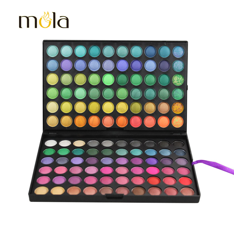 Waterproof 120 Colors eye shadow for blue eyes, latest products in market, makeup factory 120 eye shadow online